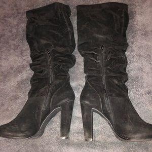 Aldo Below Knee Suede Boots size 10